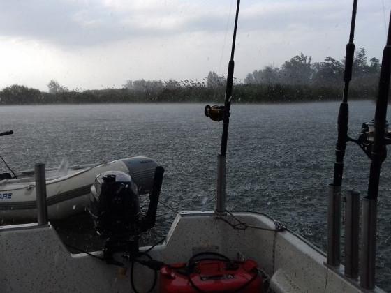 Lago mit Unwetter