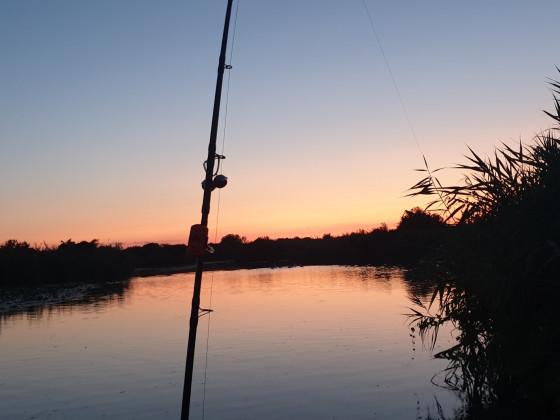 Sonnenuntergang am Lago Superiore
